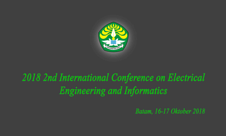 Pengumuman: 2018 2nd International Conference on Electrical Engineering and Informatics