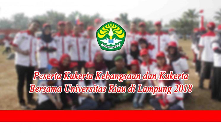 Pengumuman: Peserta Kukerta Kebangsaan dan Kukerta Bersama di Lampung Tahun 2018