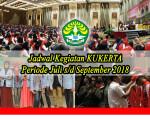 Jadwal Kegiatan Kukerta UNRI Periode Juli s/d September 2018