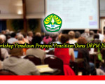 Workshop Penulisan Proposal Penelitian Dana DRPM 2019