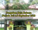 Pengadaan Baju Kukerta UNRI Periode Juli s.d September 2018