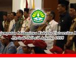 Penjemputan Mahasiswa Kukerta Universitas Riau Periode Juli s/d Agustus 2018