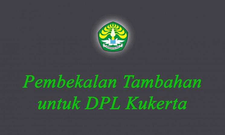 Undangan: Pembekalan Tambahan untuk DPL Kukerta