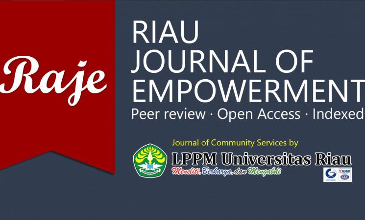LPPM Universitas Riau Akan Menerbitkan Jurnal Pengabdian, Issue Pertama Terbit Juni 2018