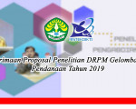 Penerimaan Proposal Penelitian Gelombang II untuk Pendanaan Tahun 2019
