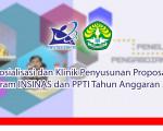 Pengumuman: Sosialisasi dan Klinik Program INSINAS dan PPTI