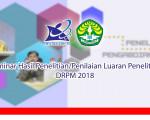 Seminar Hasil Penelitian/Penilaian Luaran Penelitian DRPM 2018