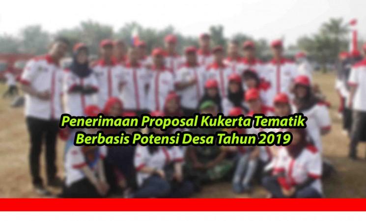 Penerimaan Proposal Kukerta Tematik Berbasis Potensi Desa Tahun 2019
