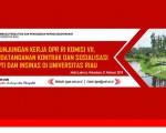 Peserta Undangan Sosialisasi INSINAS dan PPTI di Hotel Labersa Pekanbaru