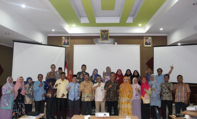 Rapat Koordinasi Pengembangan dan Diseminasi Riset melalui Pengabdian kepada Masyarakat dengan Pimpinan Daerah